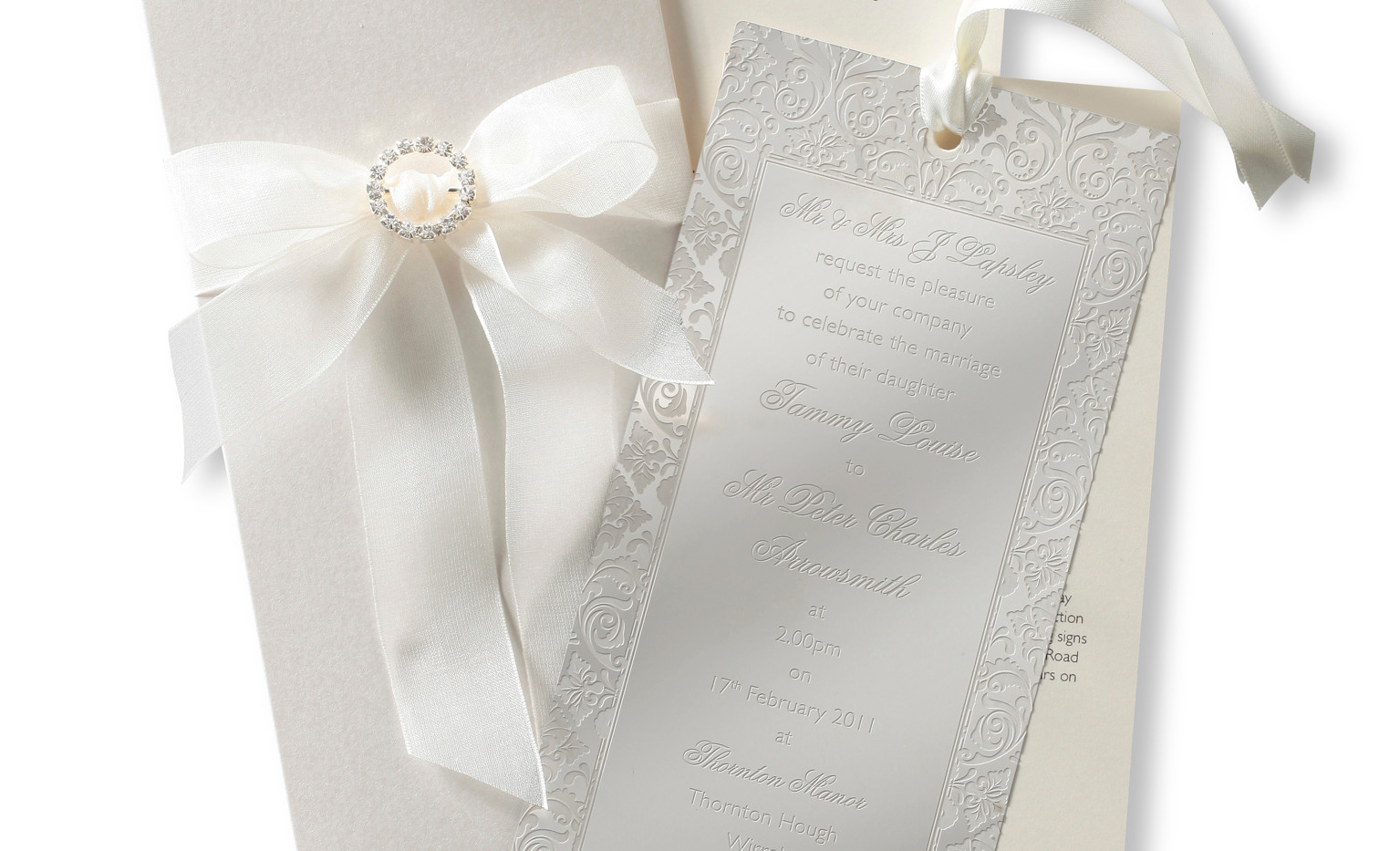 Extra Luxury Pocket Invitation