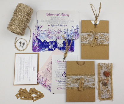 Invitation inspire by Alice in Wonderland