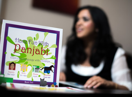 FIVE TIPS ON HELPING CHILDREN LEARN PANJABI