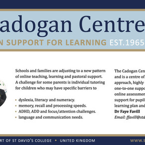 Cadogan is excited to be working with Mark Brooks Education with schools in Nigeria.