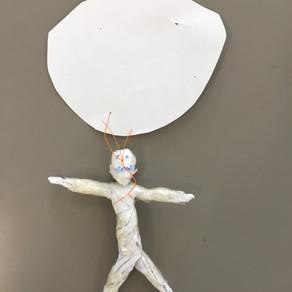 Creative writing and origami
