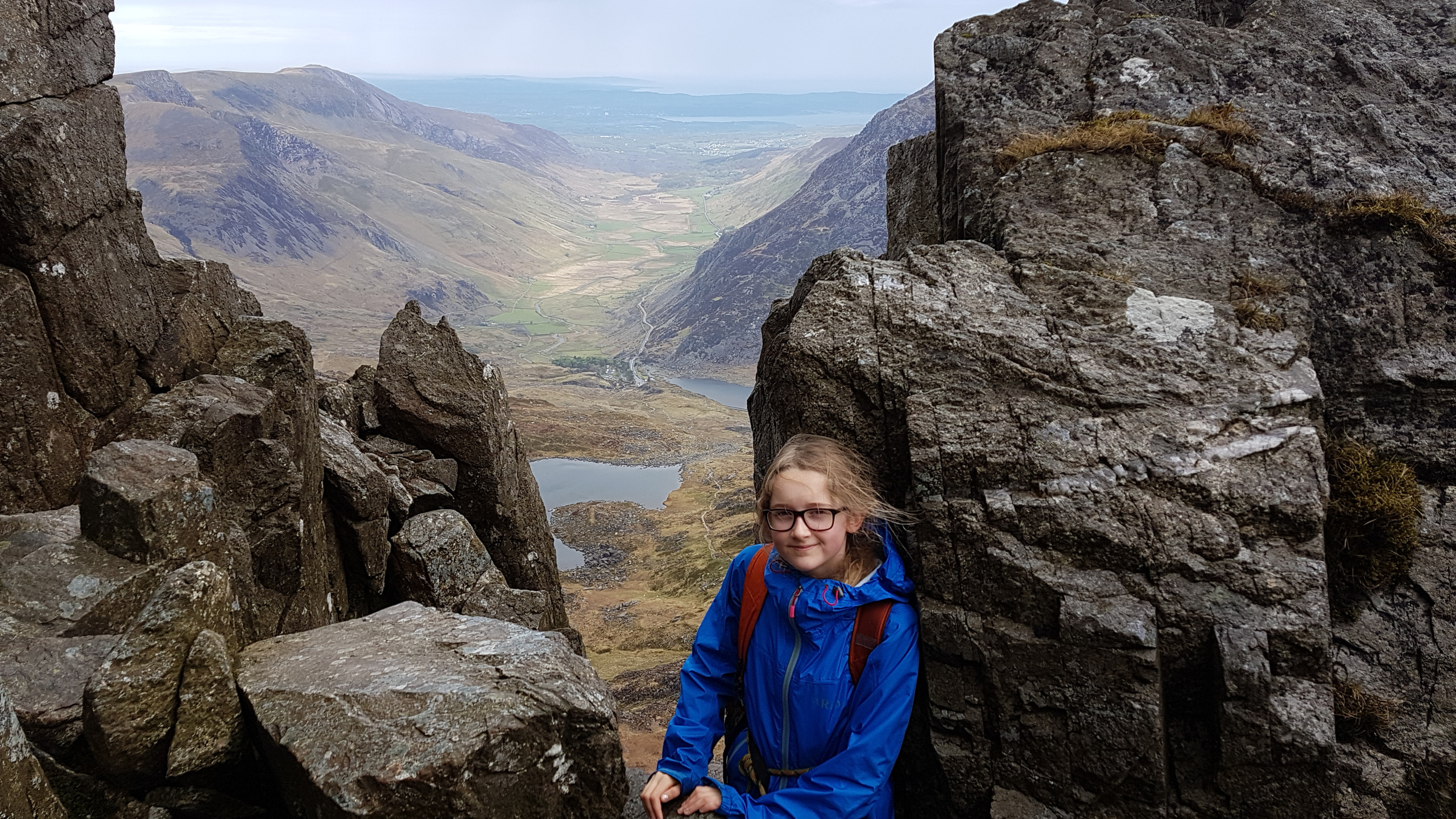 Near top of Bristly ridge