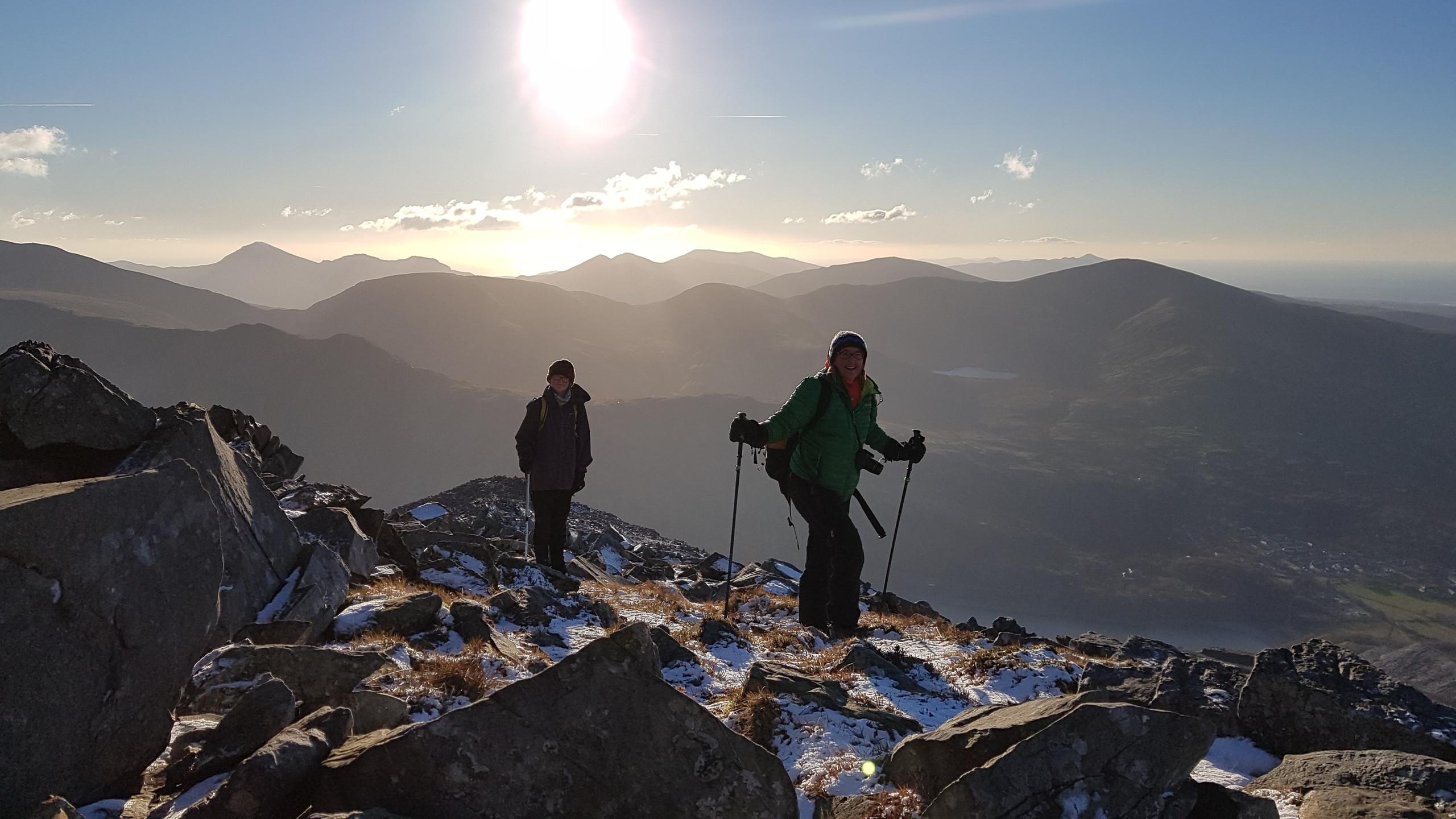 Nearing summit of Elidir Fawr