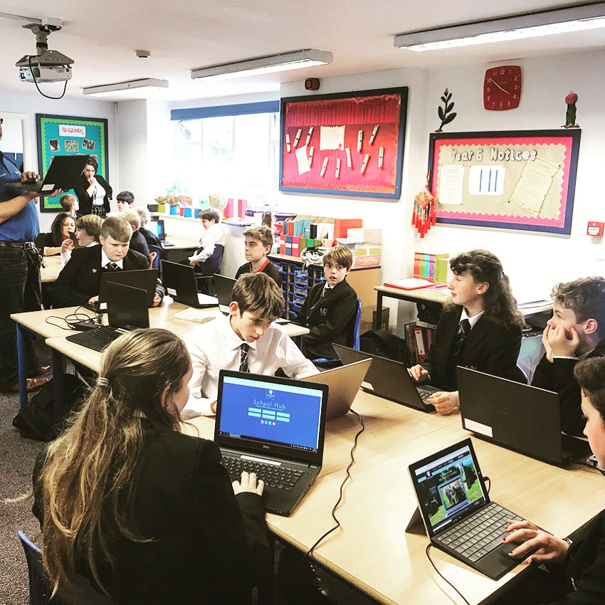 BDA and Microsoft are working together on a research project with some of our dyslexic pupils