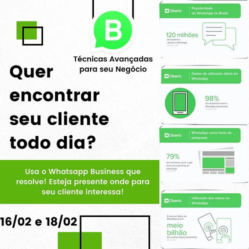 Mentoria de Whatsapp Business Para Negócios | 16 e 18