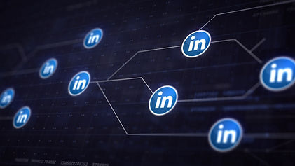 linkedin-icon-line-connection-of-circuit