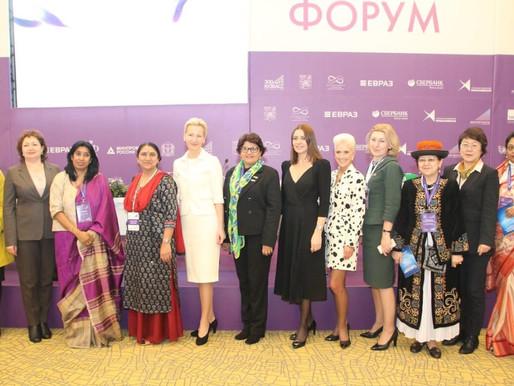 Lideranças femininas no Fórum do Brics na Russia