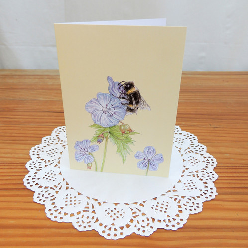 Bumble bee greetings card 5 card multipack m4hsunfo