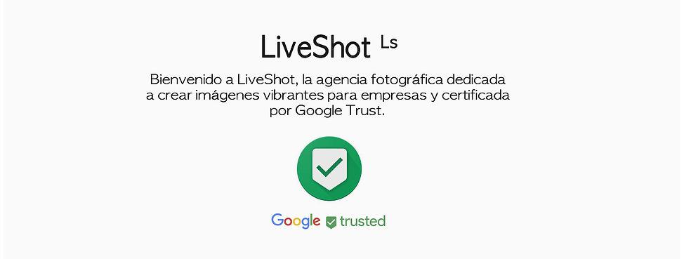 Binvenido a Live Shot, la agencia fotográfica dedicada a crear imágenes vibrantes y certificada por Google Trust.