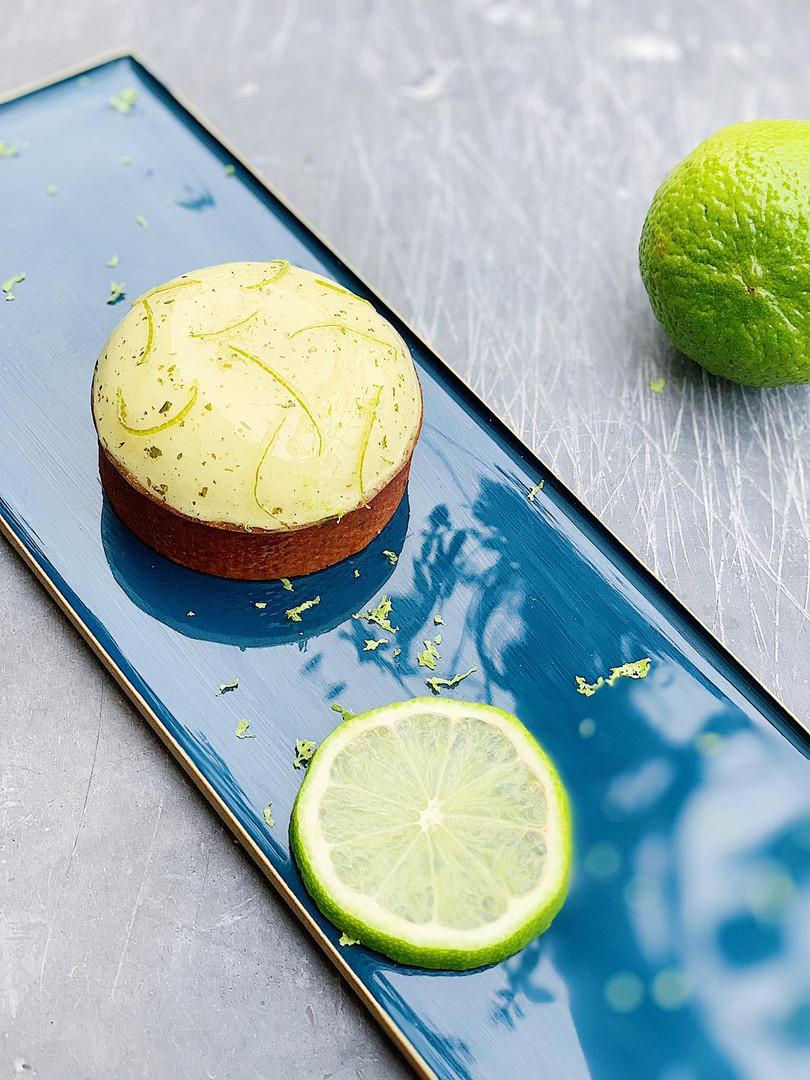 Tarte Citron-vert Shiso