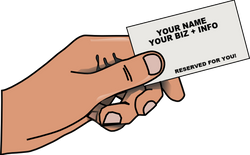 YOUR BIZ CARD HERE