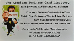 The American Business Card Directory