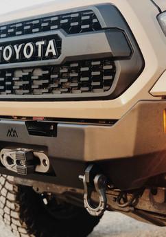 tacoma bumper pathfinder amber light off