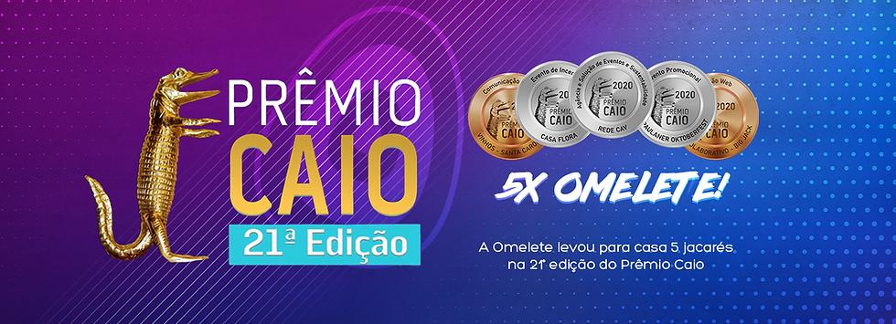 Premio Caio 2020 - Omelete