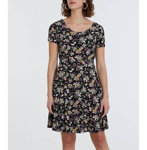 46608 Flower print Dress