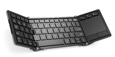 Folding Bluetooth Keyboard & Touchpad