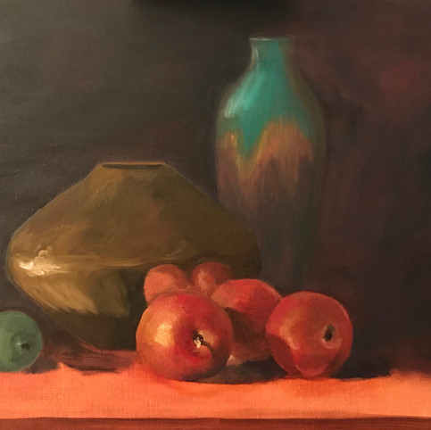 Frute and Vase