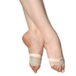 FOOT THONG CAPEZIO FootUndeez Lyrical Shoe.