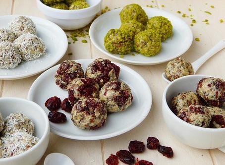 Der gesunde Snack im Homeoffice (und für danach):      Energy Balls (Bliss Balls) 😊👌