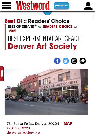 West Word Denver_Readers Choice Best _Ex