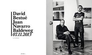 David Bestué Navarro Baldeweg