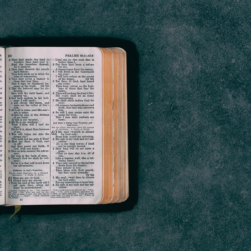Wednesday Bible Study 12pm