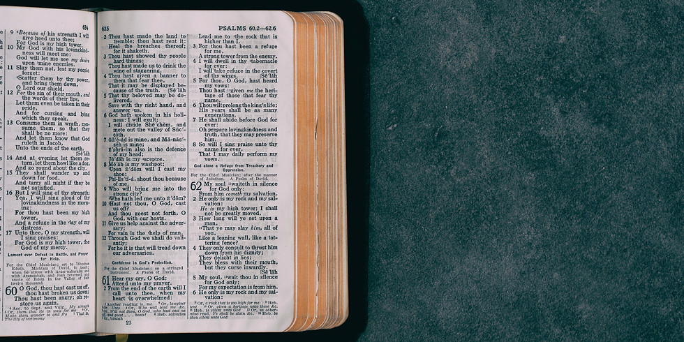 Estudio Biblico/Bible Study