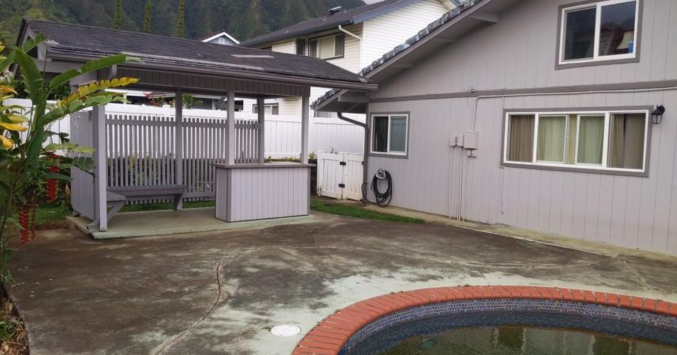Pool Deck - Before