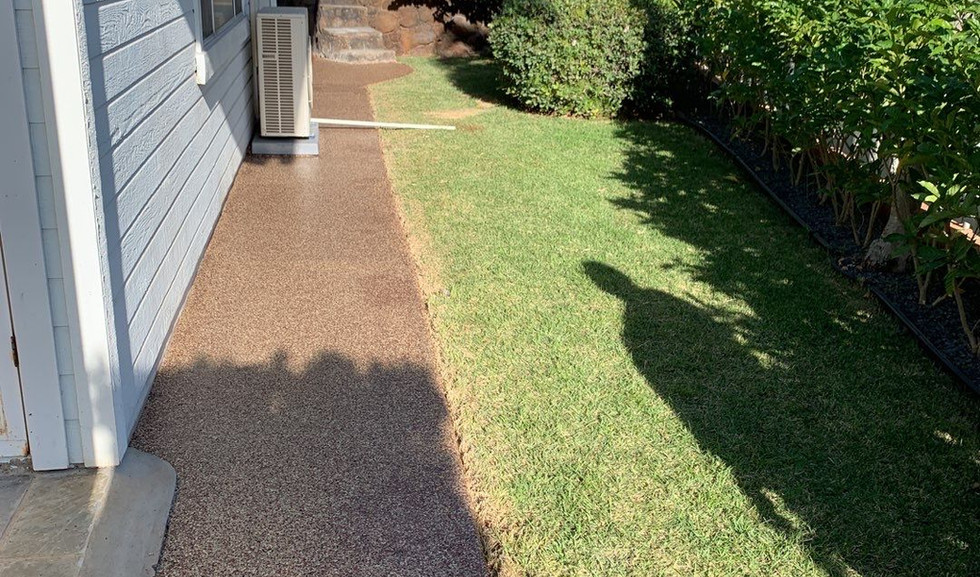 Residential Concrete Coating