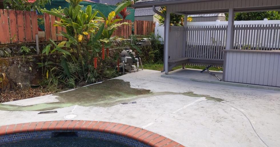 Pool Deck - Repair