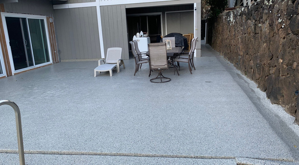 Finished Pool Deck
