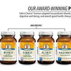 Udo's Probiotics Family