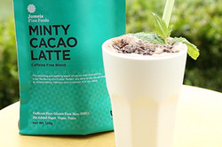 Minty Cacao Fruit Smoothie