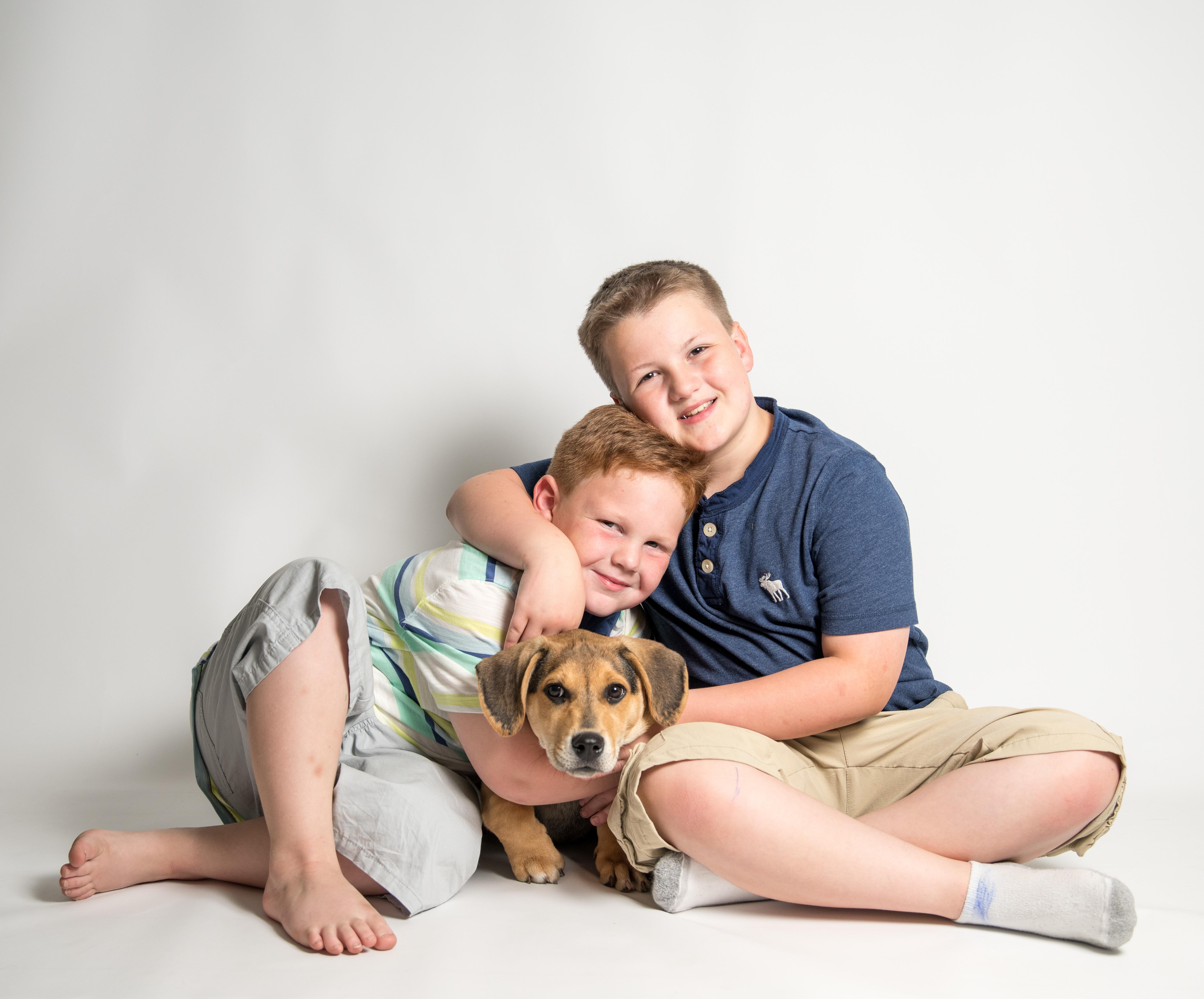 In-Studio Pet & Person Portraits
