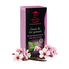 Chinese Sencha Green Tea w/Vanilla & Cherry Blossom