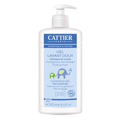 Cattier Baby Cleansing Gel (Hair and body)
