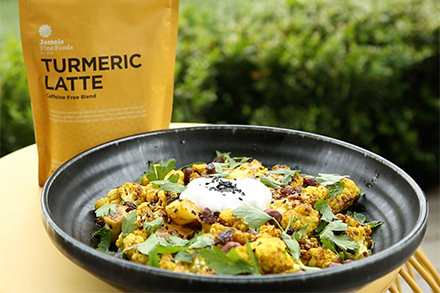 Turmeric Spiced Cauliflower