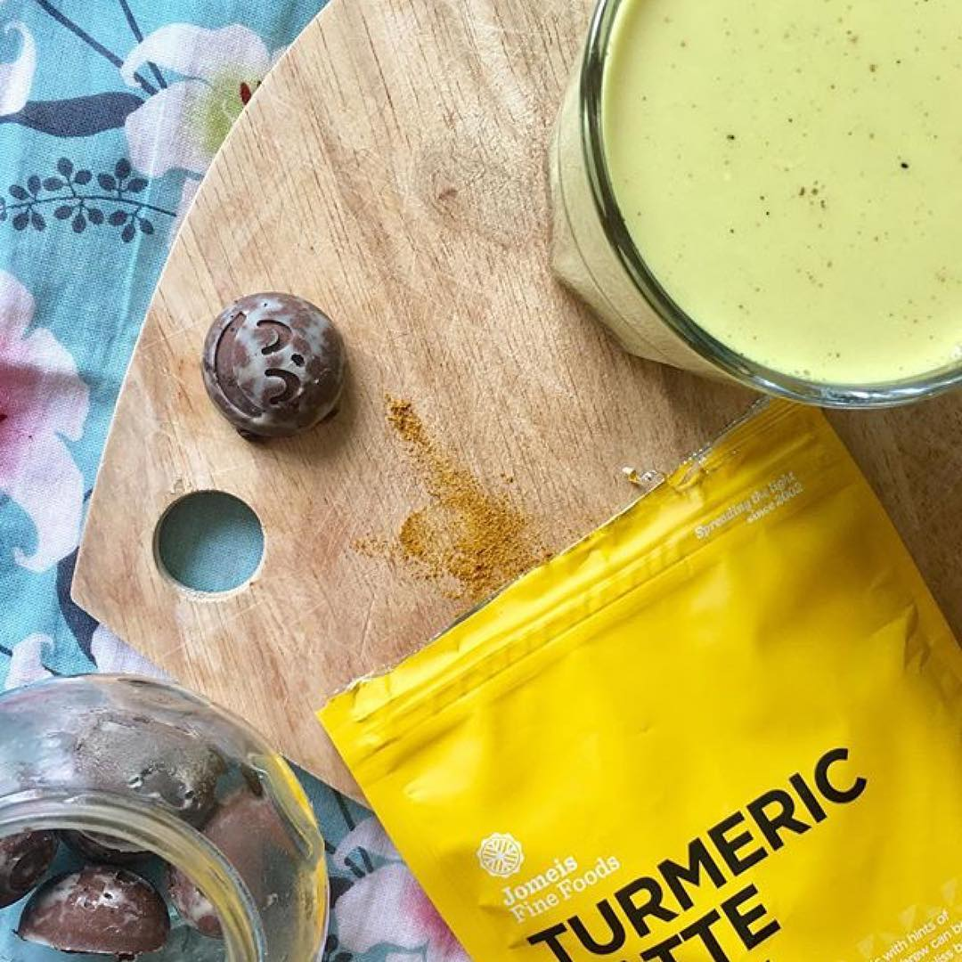 Turmeric Latte with coconut milk