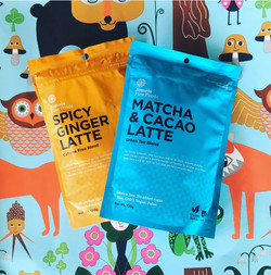 Spicy Ginger, Matcha Cacao