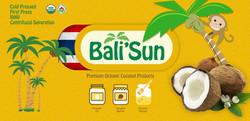 Bali' Sun backdrop