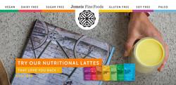 Jomeis Fine Foods Backdrop