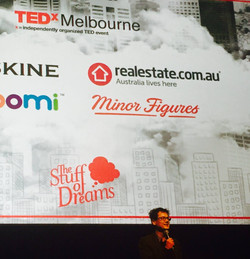 Minor Figures front and centre at TEDxMelbourne