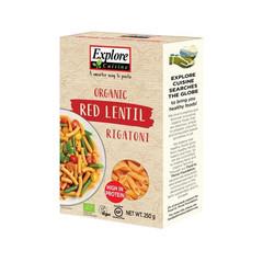 Explore Cuisine Red Lentil Rigatoni