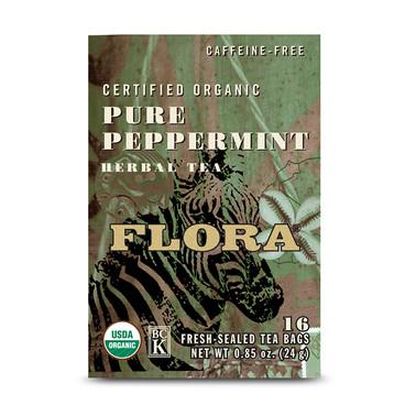 Flora Pure Peppermint Tea