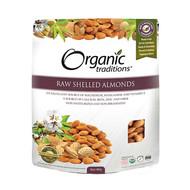 Raw Shelled Almonds