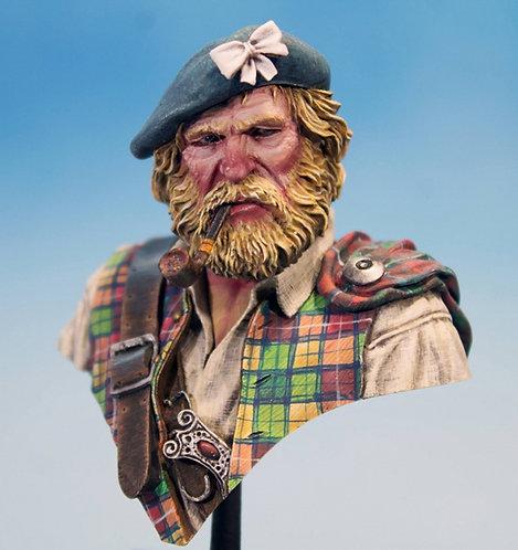 Scottish Clansman - Original Painted