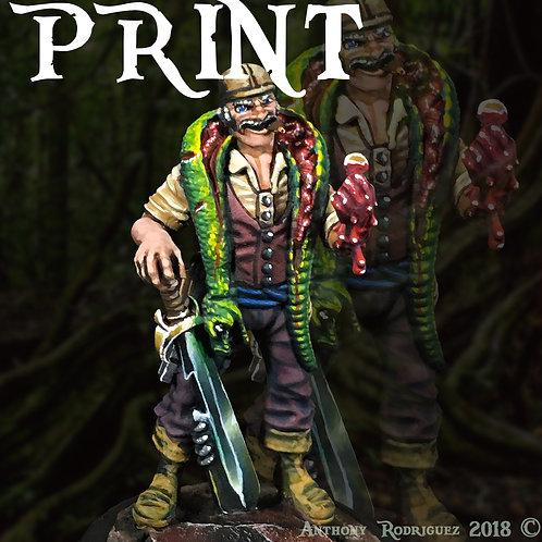 """""""Rage"""" Print 8x8 - Numbered & Printed"""
