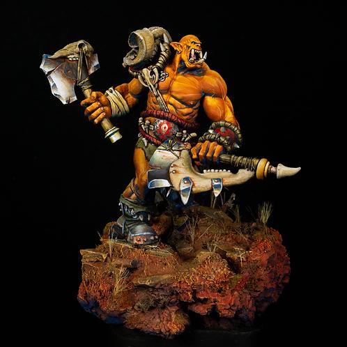 Orc Warrior 11.5 x 8 Print