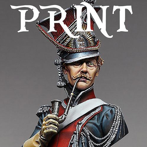 Polish Lancer Print 5x7 - Numbered & Signed