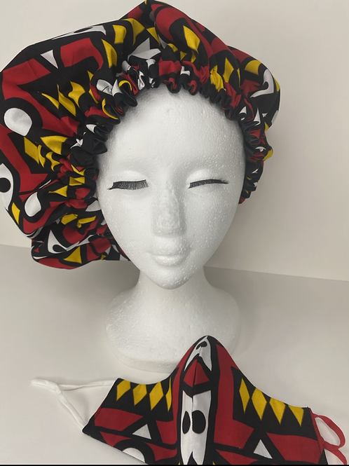 Night Night Bonnet w/ Satin  Lining
